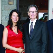 Carl J. Martignetti, Linda Pizzuti Henry, John Henry, and Dr. Peter Slavin