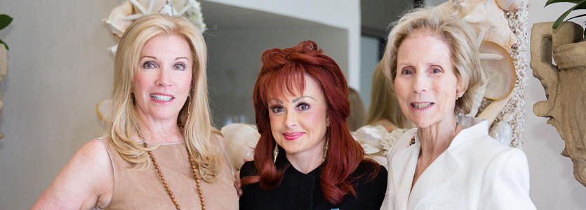 Michele Kessler, Leadership Council co-chair, singer Naomi Judd and Carroll Carpenter, Leadership Council co-chair