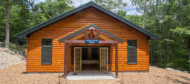The Simches Family Pavilion at the Aspire Summer Adventure Camp Autism