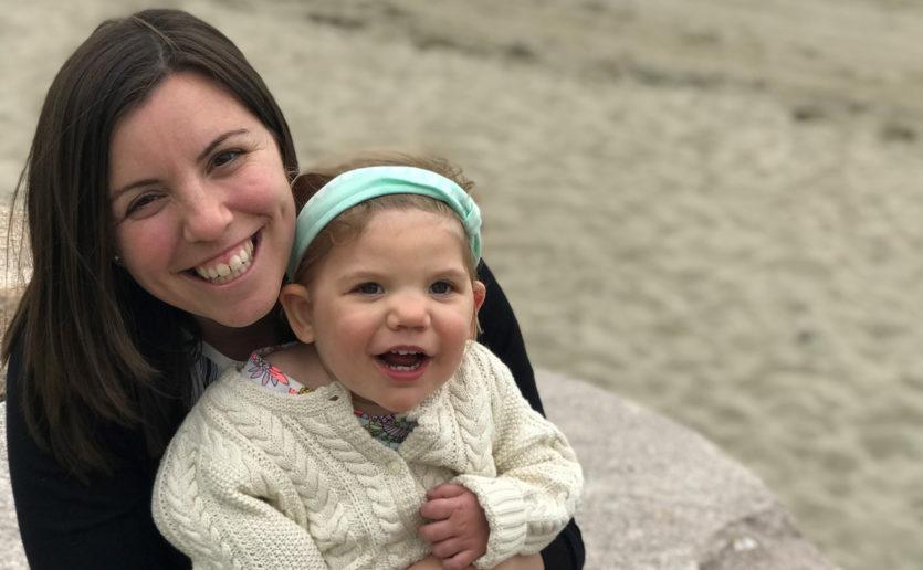 Sofia Izzi with her mother, Stefanie (Photo courtesy of Stefanie Izzi)
