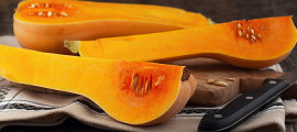 Red-pigmented squashes like the apricot-tinted butternut squash are among the vegetables that can help keep your heart healthy.