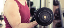 Lifting weights as part of a strength training program isone strategy for keeping muscle while losing body fat.