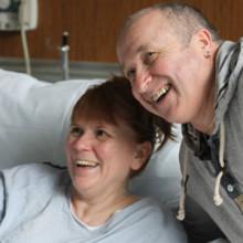 Linda and Billy Keir at Mass General