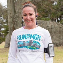 Nicolette Deveau knows how to train hard. Running a marathon is a new challenge.
