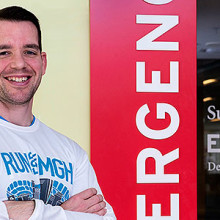 Ryan Vanderweit will run the Boston Marathon in support of Mass General's Emergency Response team.