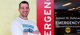 Ryan Vanderweit will run the Boston Marathon in support of Mass General's Emergency Response team.