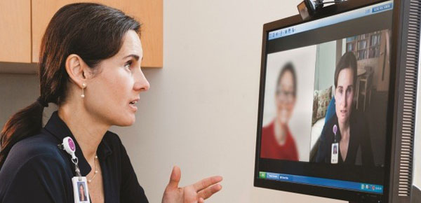 Telehealth in practice at Mass General