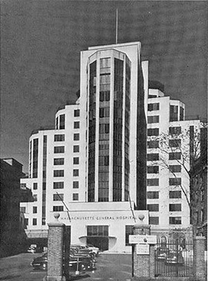 Opened in 1939, the White Building consolidated Mass General's growing surgical program.