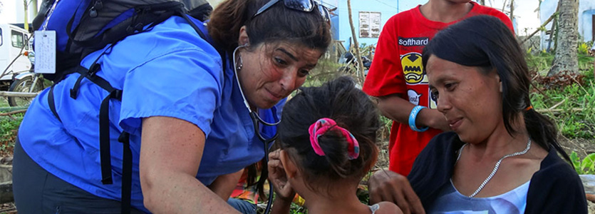 Typhoon Haiyan Victims Aided by Mass General Team